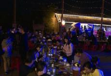 赤壁第三届龙虾啤酒音乐节开幕