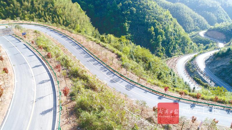 最美的风景在路上  咸宁创建国省道