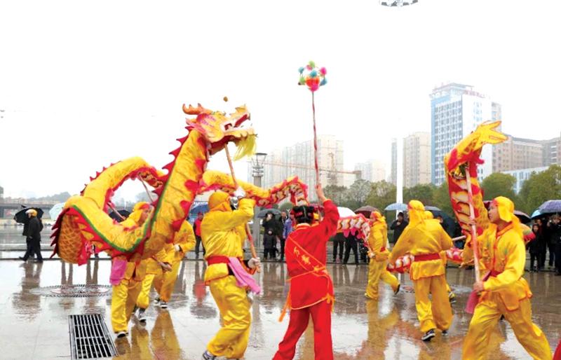 """通城县2019年""""龙狮闹春"""" 带您感受传统民俗文化魅力"""
