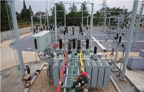按这一要求,肖岭变电站设计为110千伏装配式智能变电站,主变为5万千伏