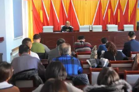 咸宁市委宣讲团赴通城县宣讲十八届六中全会精神